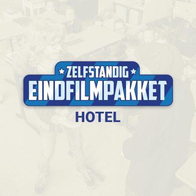 Groep 8 Eindfilm opnemen Hotel product