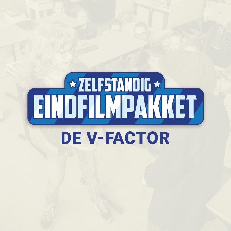 Groep 8 Eindfilm opnemen De V Factor product