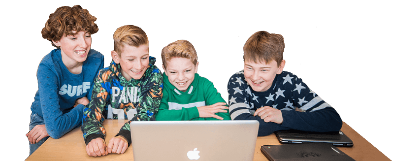 hollywood in de klas contact banner header kids