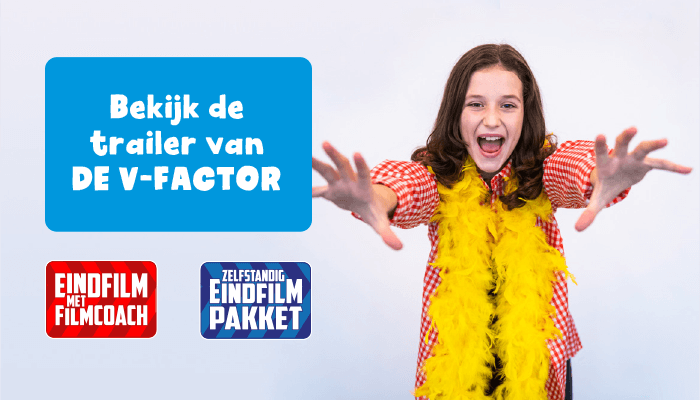 Hollywood in de Klas eindfilm groep 8 trailer De V-factor