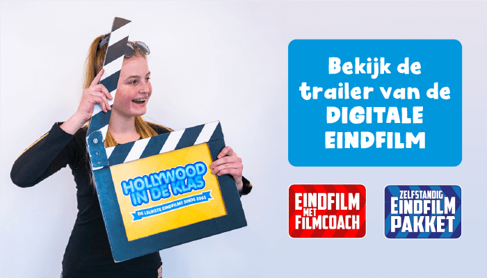 Hollywood in de Klas eindfilm groep 8 trailer digitale eindfilm