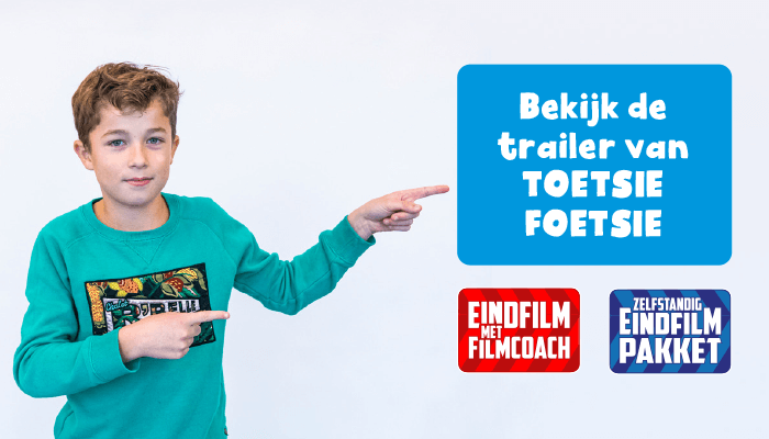 Hollywood in de Klas eindfilm groep 8 trailer toetsie foetsie